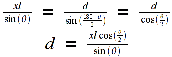 Equations for the observation
